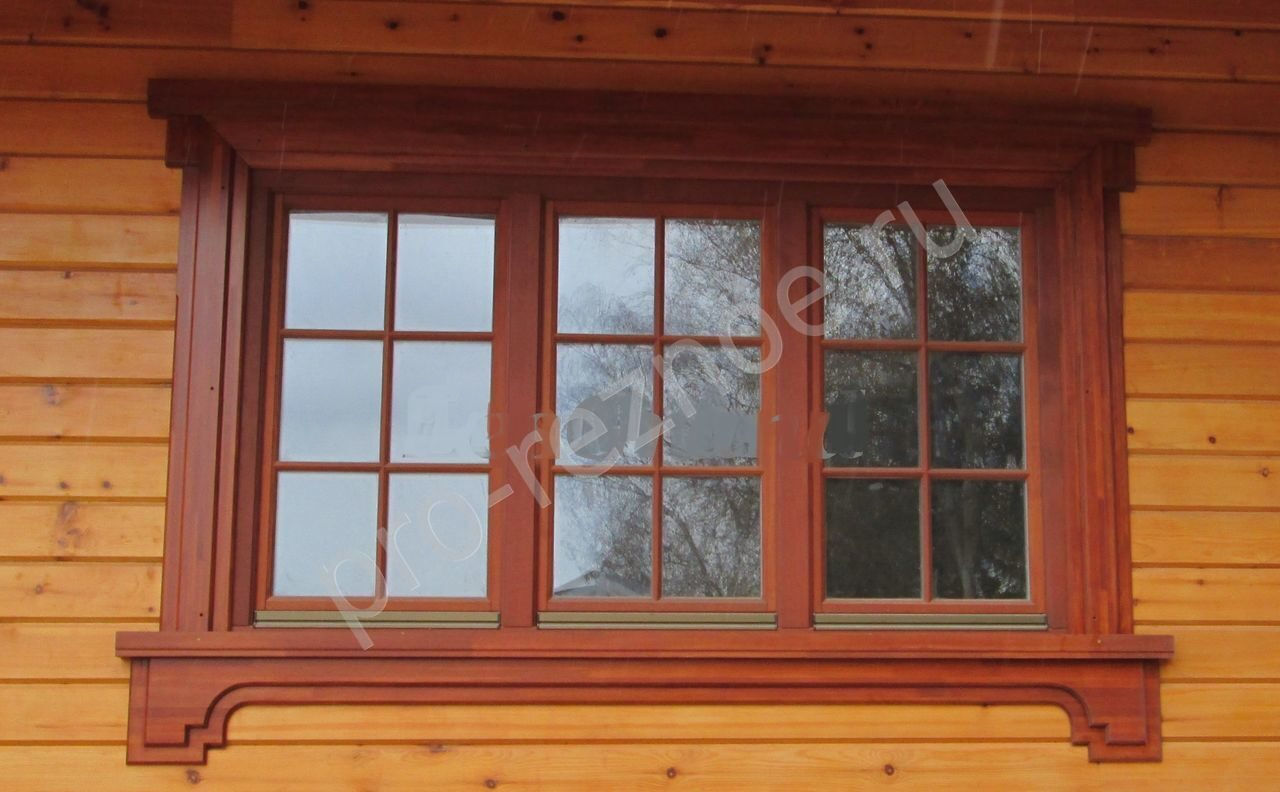 Наличник для окон для деревянного дома своими руками